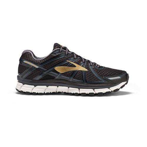 Mens Brooks Adrenaline GTS 17 Running Shoe - Black/Anthracite 12
