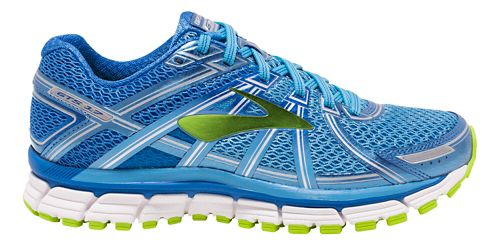 Womens Brooks Adrenaline GTS 17 Running Shoe - Blue 9