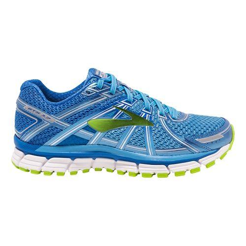 Womens Brooks Adrenaline GTS 17 Running Shoe - Anthracite/Fuchsia 8