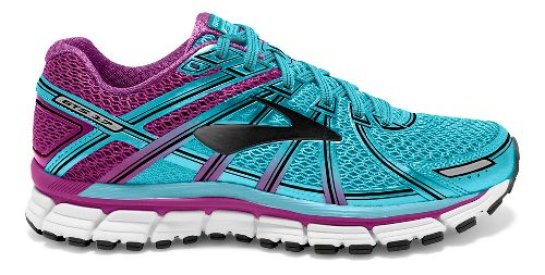 Womens Brooks Adrenaline GTS 17 Running Shoe - Blue/Purple 7