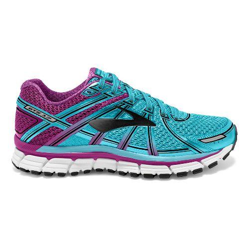 Womens Brooks Adrenaline GTS 17 Running Shoe - Blue/Purple 6