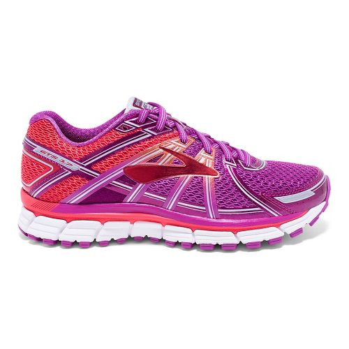 Womens Brooks Adrenaline GTS 17 Running Shoe - Vivid Viola 5