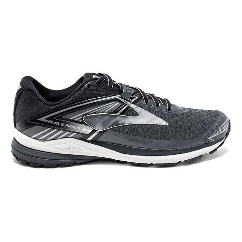 Mens Brooks Ravenna 8 Running Shoe - Anthracite/Black 10