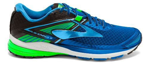 Mens Brooks Ravenna 8 Running Shoe - Blue/Green 8