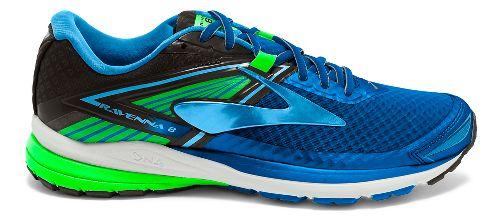 Mens Brooks Ravenna 8 Running Shoe - Blue/Green 9.5