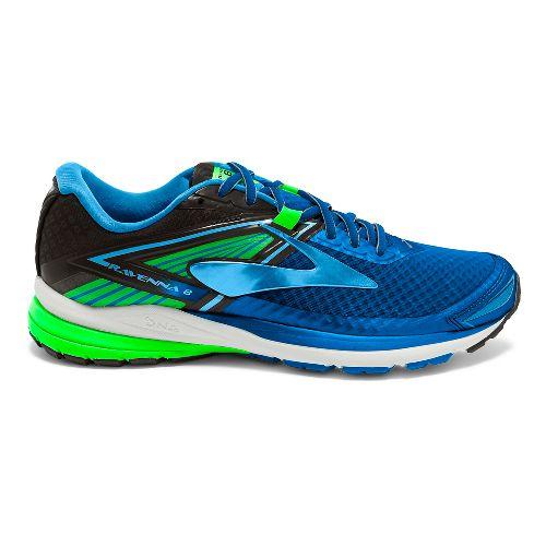 Mens Brooks Ravenna 8 Running Shoe - Blue/Green 8