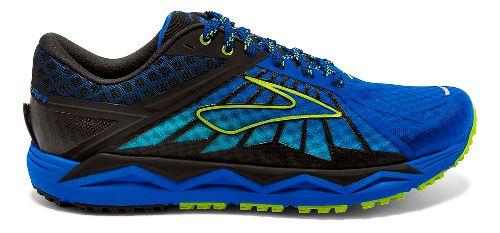 Mens Brooks Caldera Trail Running Shoe - Electric Blue 10