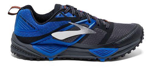 Mens Brooks Cascadia 12 Trail Running Shoe - Olive/Orange 10
