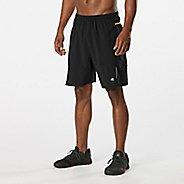 "Mens Road Runner Sports Stash Solver Six Pocket 7"" Lined Shorts"