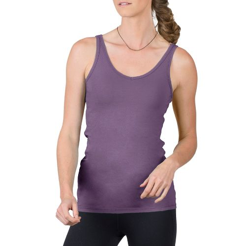 Womens Soybu Lola Sleeveless & Tank Technical Tops - Silver Plum S