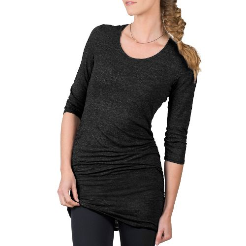 Womens Soybu Lynn Tunic Long Sleeve Non-Technical Tops - Black XS