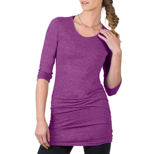 Womens Soybu Lynn Tunic Long Sleeve Non-Technical Tops - Starboard XS