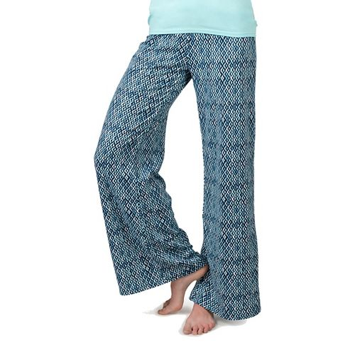 Womens Soybu Indira Pants - Blue Arrow XL