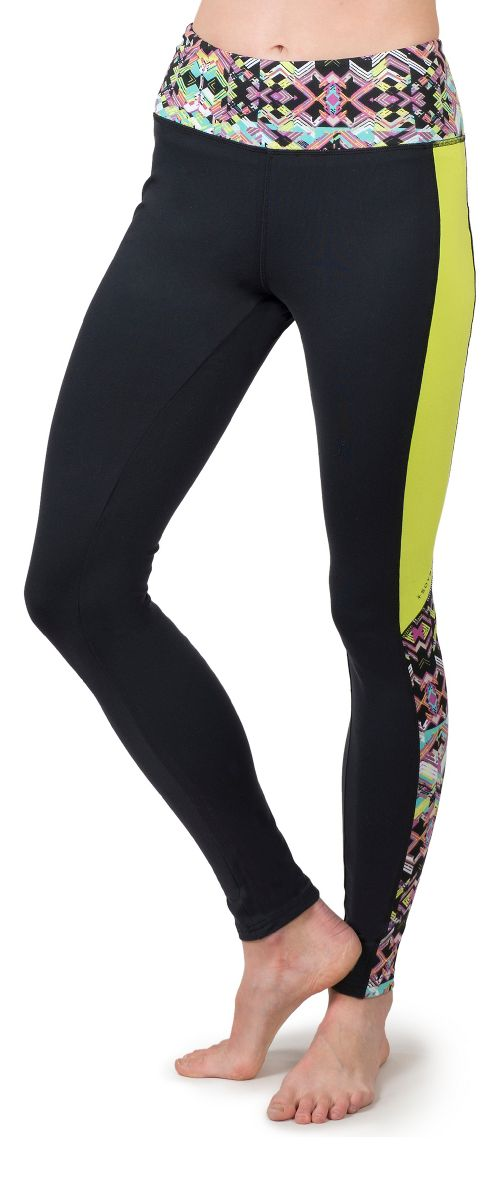 Womens Soybu Flex Core Tights & Leggings Pants - Reflect M