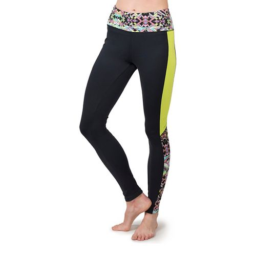 Womens Soybu Flex Core Tights & Leggings Pants - Reflect L