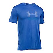 Mens Under Armour Run Icon Graphic Short Sleeve Technical Tops