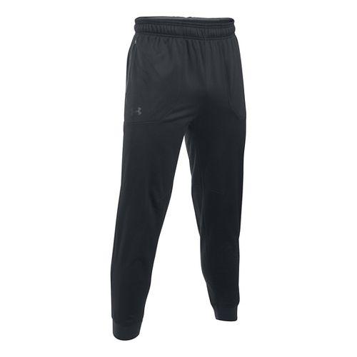 Mens Under Armour Scope Fleece Pants - Black XXL