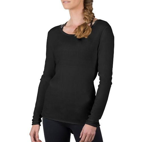 Womens Soybu Yvette Tunic Long Sleeve Non-Technical Tops - Black M