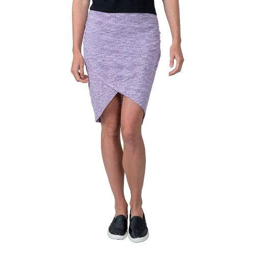 Womens Soybu Wren Fitness Skirts - Silver Plum L