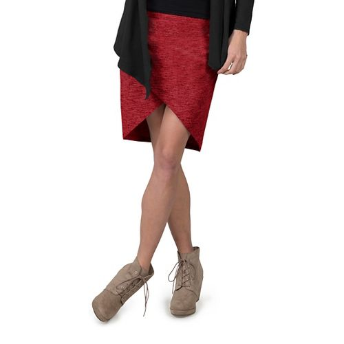 Womens Soybu Wren Fitness Skirts - Syrah L