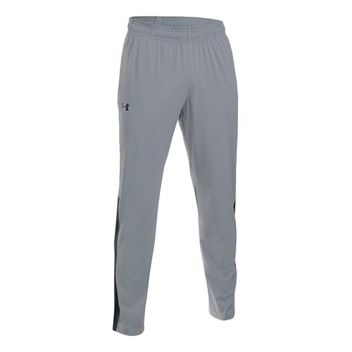 Mens Under Armour Scope Stretch Woven Pants - Steel/Black S