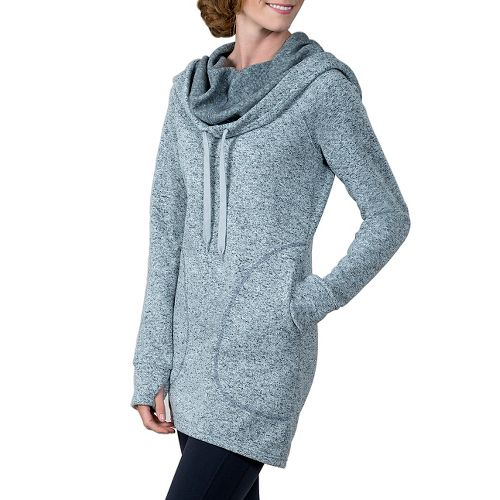 Womens Soybu Simone Hoodie & Sweatshirts Non-Technical Tops - Grey L