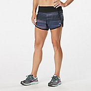 "Womens Road Runner Sports Love Your Look Printed 3"" Lined Shorts"