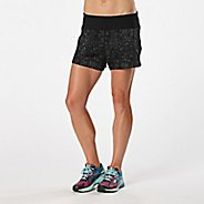 "Womens Road Runner Sports Love Your Look Printed 5"" Lined Shorts"