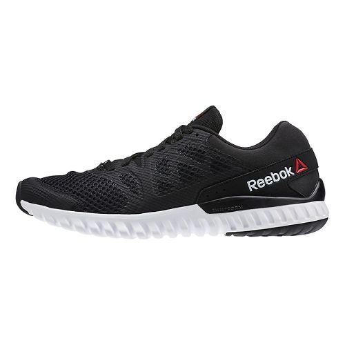 Mens Reebok Twistform Blaze 2.0 MTM Running Shoe - Black/Grey 11