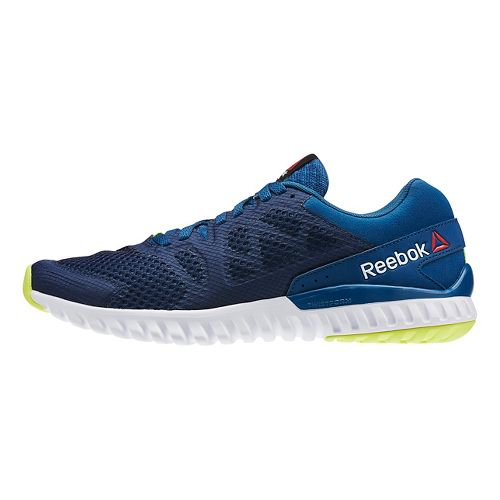 Mens Reebok Twistform Blaze 2.0 MTM Running Shoe - Blue/White 8.5