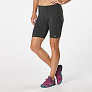 "Womens Road Runner Sports Recharge Printed 8"" Compression & Fitted Shorts"