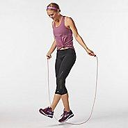 Womens Road Runner Sports Recharge Compression Capri Tights - Black XL