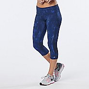 Womens R-Gear Recharge Compression Printed Capri Tights