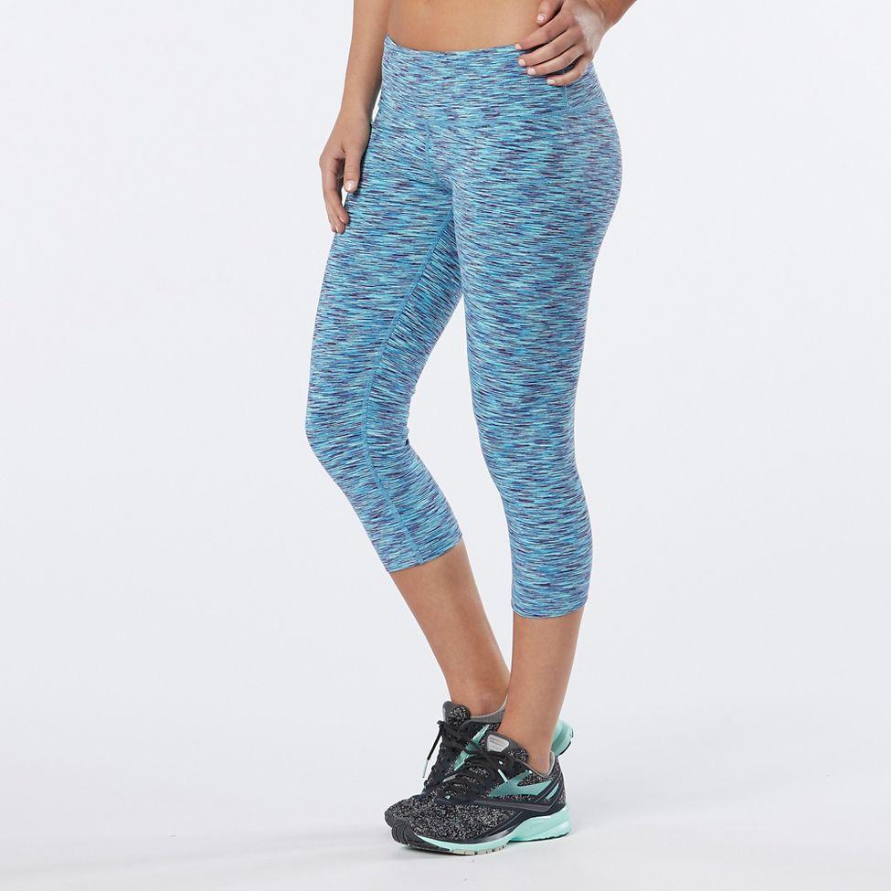 Road Runner Sports Leg Up Printed Capri II Tights