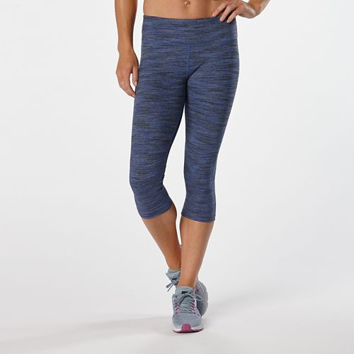 Womens R-Gear Leg Up Printed Capri II Tights - Sapphire Ombre M