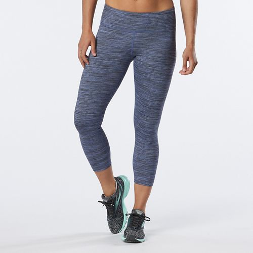 Womens R-Gear Leg Up Crop II Capris Tights - Heather Storm Blue S