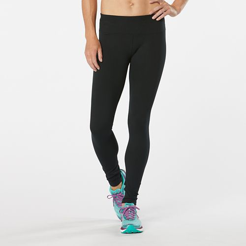 Womens Road Runner Sports Leg Up Legging II Tights & Leggings - Black L