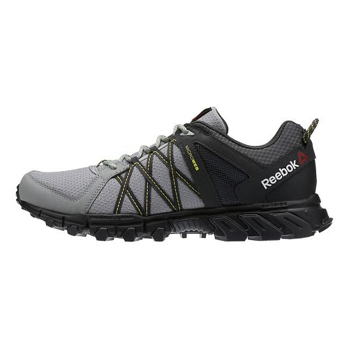 Mens Reebok TrailGrip RS 5.0 Trail Running Shoe - Grey/Black 11.5
