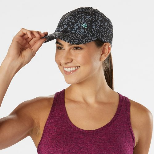 R-Gear Splatter Dash Cap Headwear - Black/Grey Mist Dot S/M