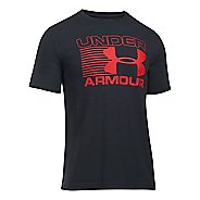 Mens Under Armour Stack Attack T Short Sleeve Technical Tops