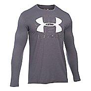 Mens Under Armour Visionary T Long Sleeve Technical Tops