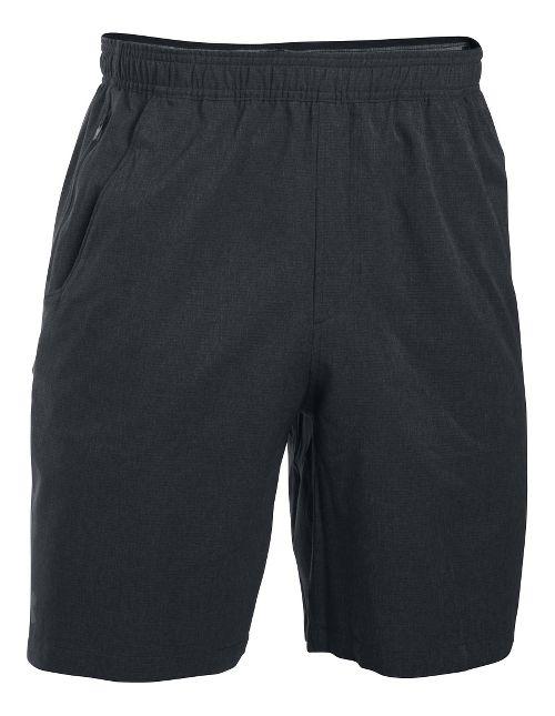 Mens Under Armour Storm Rowhouse Unlined Shorts - Asphalt Heather XL