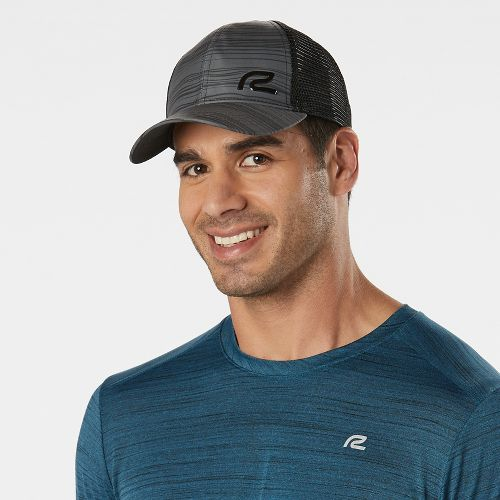 R-Gear No Limit Printed Trucker Headwear - Black Stripe