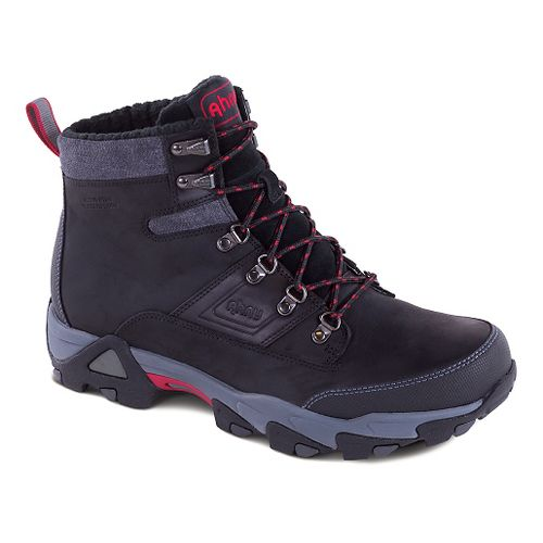 Mens Ahnu Orion Insulated WP Hiking Shoe - Black 14