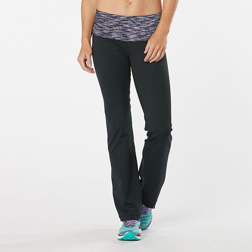 Womens Road Runner Sports Run, Walk, Play Pant 2 - Black/Storm Blue XS