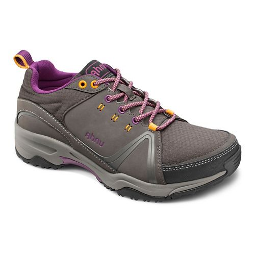 Womens Ahnu Alamere Low Hiking Shoe - Granite 10