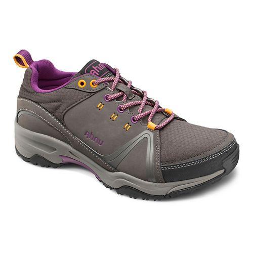 Womens Ahnu Alamere Low Hiking Shoe - Granite 10.5