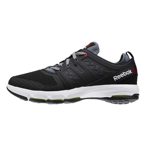Mens Reebok Cloudride DMX Walking Shoe - Black/White 13