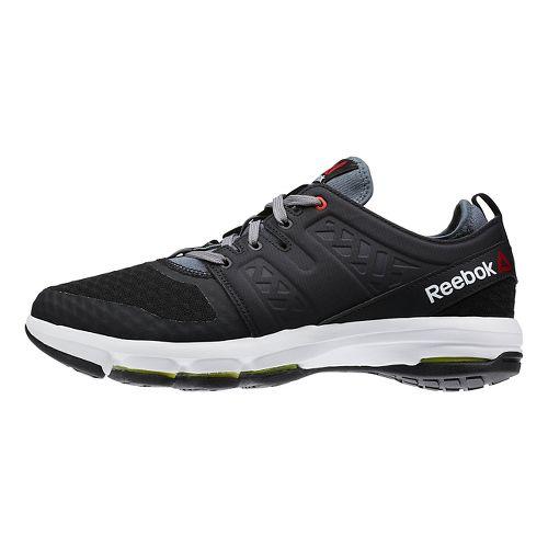 Mens Reebok Cloudride DMX Walking Shoe - Black/White 8.5