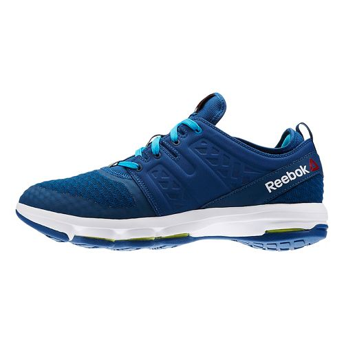 Mens Reebok Cloudride DMX Walking Shoe - Blue/White 7.5